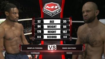 Семплис Фу Окинг Фоссинг vs Максим Давыдов, Road to M-1