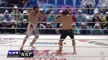 Альберт Дураев vs Мелвин ван Суидам, M-1 Challenge 40