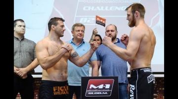 M-1 Challenge 82: Вянттинен vs Заяц weigh-in | Взвешивание перед турниром