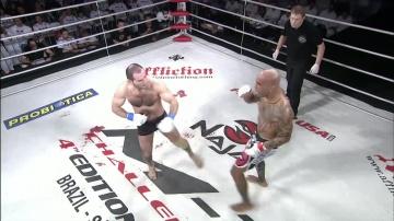 Eduardo Pamplona vs Erik Oganov, M-1 Challenge 15