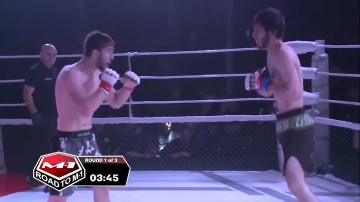 Adam Tsurov vs Sharpudin Magomedov, Road to M-1: Ingushetia