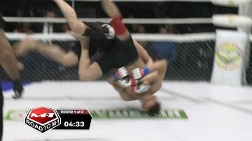 Юрий Семенов vs Амир Бадиев, Road to M-1