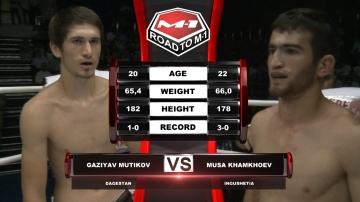 Газияв Мутиков vs Муса Хамхоев, Road to M-1