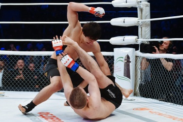 Анатолий Лягу vs Абубакар Местоев, M-1 Challenge 76