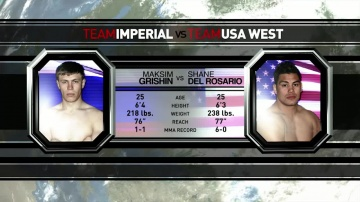 Шейн Дель Росарио vs Максим Гришин, M-1 Challenge 17