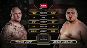 Travis Wiuff vs Josue Lugo Jr, Road to M-1: USA 2
