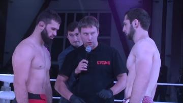 Хамзат Сакалов vs Джамбулат Балиев, Road to M-1: Ingushetia