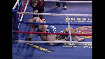 Рамазан Ахадуллаев vs Марк Эммануэль, M-1 MFC - Russia vs. France
