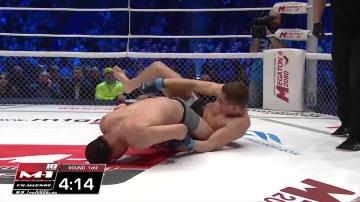 Руслан Шамилов vs Булат Жумабаев, M-1 Challenge 63