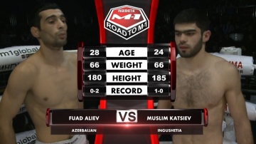 Фуад Алиев vs Муслим Кациев, Road to M-1