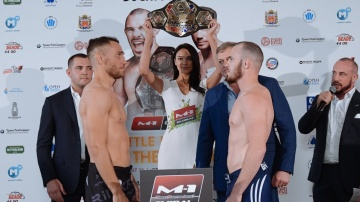 M-1 Challenge 104 Weigh-in. August 29, Orenburg, Russia