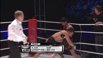 Mikhail Malyutin vs Yui Chul Nam, M-1 Challenge 09