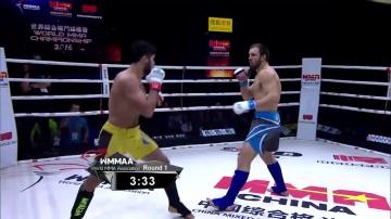 Идрис Гезалов vs Гамзат Хирамагомедов, WMMAA Macau 2016