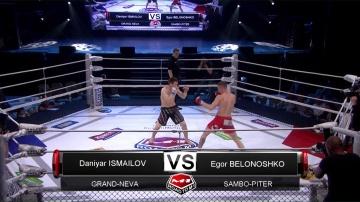 Данияр Исмаилов vs Егор Белошонко, Road to M-1 - Saint Petersburg 3