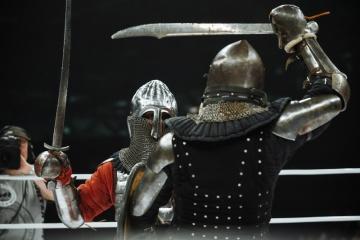 Евгений Беденко vs Иван Васильев, M-1 Challenge 56, Medieval MMA