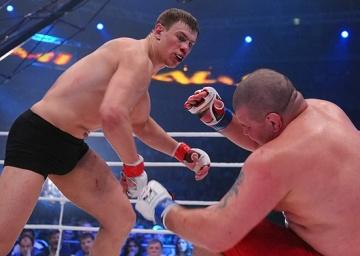 Максим Гришин vs Владимир Кученко, M-1 Challenge 25