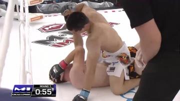 Рустам Хусинов vs Иван Фомин, M-1 Challenge 40