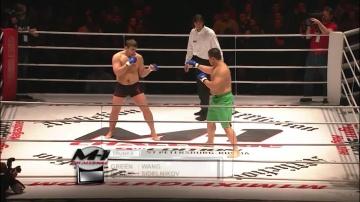 Jun Woo Kim vs Kirill Sidelnikov, M-1 Challenge 09