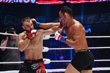 Тьяго Варежао vs Сергей Романов, M-1 Challenge 92