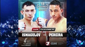 Damir Ismagulov vs Rubenilton Pereira fight promo, M-1 Challenge 72