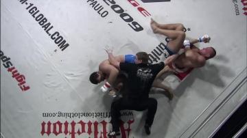 Lars Klug vs Akhmed Sultanov, M-1 Challenge 15