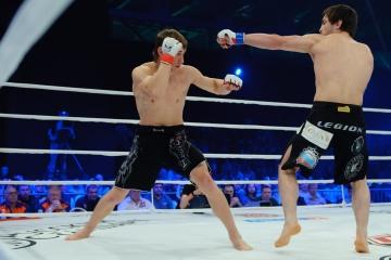 Artem Damkovsky vs Musa Khamanaev, M-1 Challenge 32