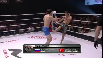 Рустам Хабилов vs Акин Дуран, M-1 Challenge 18
