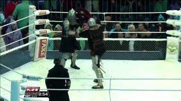 Евгений Гладков vs Максим Плаксин, M-1 Challenge 58, Medieval MMA
