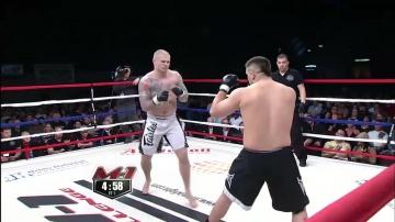 Тони Валтонен vs Сандер Даювис, M-1 Challenge 12