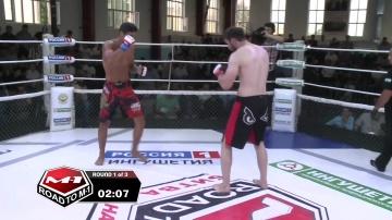 Ильяс Якубов vs Амед Аблякимов, Road to M-1: Ingushetia 4