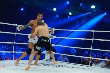 Рамазан Эсенбаев vs Даниэль Мадрид, M-1 Challenge 32