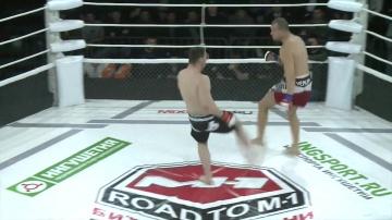 Антон Пяцата vs Амирхан Гулиев, Road to M-1: Ingushetia 2