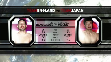Том Блэкледж vs Татсуя Мизуно, M-1 Challenge 14