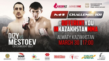 Abubakar Mestoev's promo before his fight on M-1 Challenge 101