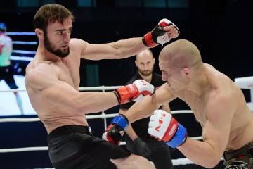 Глеб Хабибуллин vs Амир Бадиев, M-1 Challenge 99