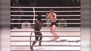 Виктор Немков vs Христиан Бомбей M-1 Challenge 02