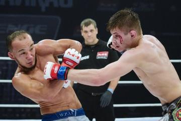 Сергей Клюев vs Абылай Толеш, M-1 Challenge Battle in Atyrau