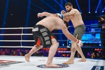 Арсен Абдулкеримов vs Леван Размадзе, M-1 Challenge 55