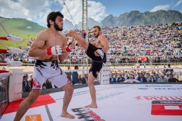 Олег Хачатуров vs Али Ганиев, M-1 Challenge 49