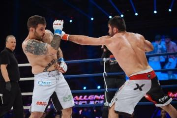 Нодар Кудухашвили vs Луиджи Фиораванти, M-1 Challenge 55