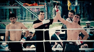 Подготовка Хамзата Далгиева к бою на M-1 Challenge 76, 22 апреля.