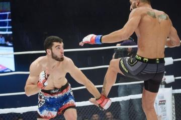 Аридан Ромеро vs Ахмадхан Боков, M-1 Challenge 99
