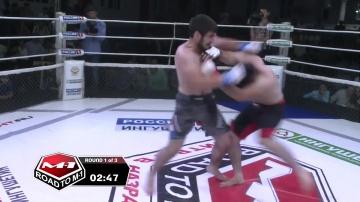 Адам Магомаев vs Ахмадхан Оздоев, Road to M-1: Ingushetia 4