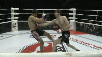 Давид Ханагаев vs Аслан Бесаев, Road to M-1