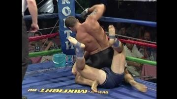 Роман Зенцов vs Андрей Янголенко, M-1 MFC - Russia vs. Ukraine