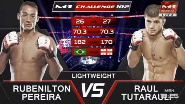 Рубенилтон Перейра vs Раул Тутараули, M-1 Challenge 102