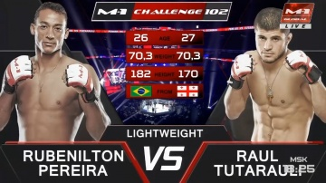 Rubenilton Pereira vs Raul Tutarauli, M-1 Challenge 102