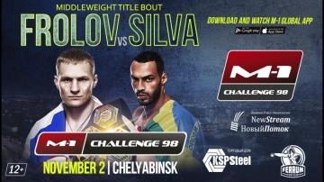 M-1 Challenge 98: Frolov vs Silva official promo, November 2, Chelyabinsk, Russia