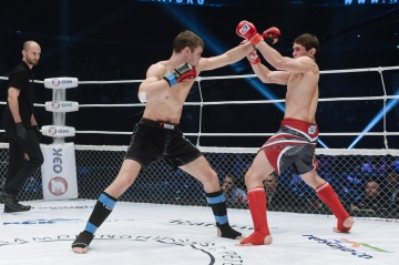 Мишель Овсянников vs Шамиль Мусаев, M-1 Challenge 71