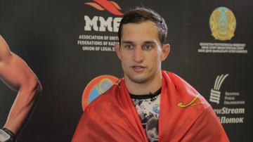 Ruslan Shamilov: the League of M-1 knows the name of the opponent I want to fight